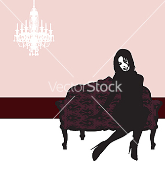 Free glamour lady vector - Free vector #271331