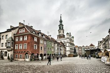 Old Market Square in Poznan - image #271621 gratis