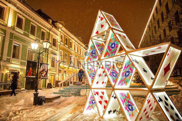 Sculpture de cartes à jouer - Free image #272311