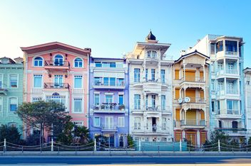 Colorful architecture of Istanbul - Kostenloses image #272331