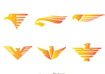 Fly Hawk Logo Vectors - бесплатный vector #272411