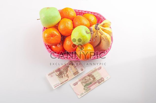 Fruit for 3 dollars, Russia, St. Petersburg - Free image #272561