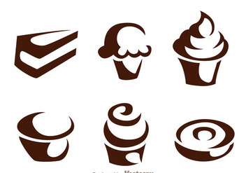 Cake Icons - vector #272821 gratis