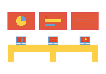 Free Command Center Vector Icon - vector #272841 gratis