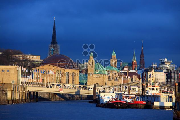 Pôr do sol em Hamburgo - Free image #272991