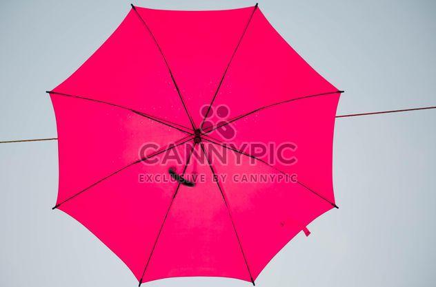 Red umbrella hanging - Free image #273081