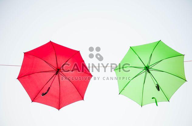 Цветные зонтики висит - Free image #273091