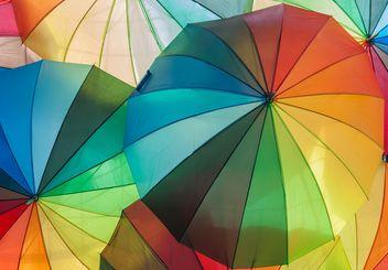 Rainbow umbrellas - image gratuit #273131
