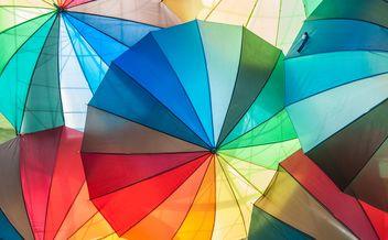 Rainbow umbrellas - Free image #273151