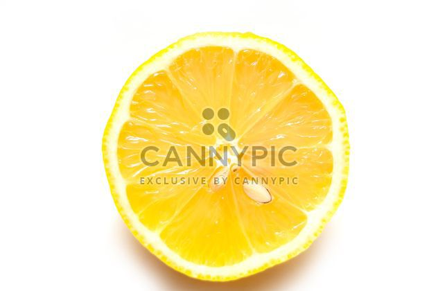 Cutted lemon isolated - Free image #273221