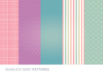 Vector Seamless Patterns - vector gratuit #273231