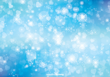 Bokeh Glitter Background Illustration - Free vector #273281