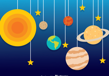 Planet Decoration Vector - Kostenloses vector #273341