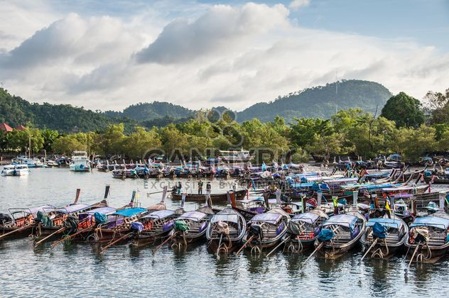 Fishing boats on berth - Free image #273531