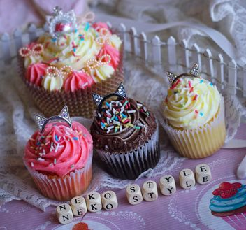 Eyeshadows with cupcakes - Free image #273771