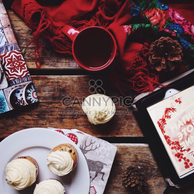 Cupcakes mit Tee - Kostenloses image #273841