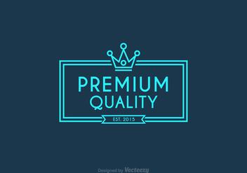 Free Vector Line Crown Logo - Free vector #274031
