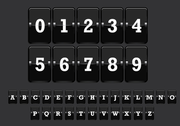 Number Counter Vector 2 - vector gratuit #274091