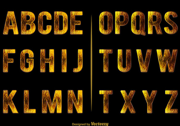 Elegant alphabet - бесплатный vector #274121
