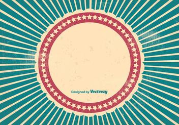 Grungy Sunburst Style Background - Free vector #274241