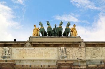 Arch Triumph Carousel in Paris - image #274761 gratis