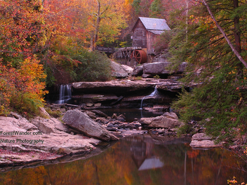 Grist Mill Sunset Light - image gratuit #279051