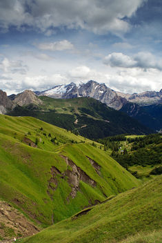 View of the Marmolada - бесплатный image #284461