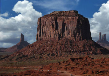 Traffic jam in Monument Valley - image gratuit #284591