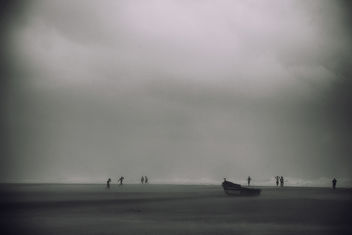 Typhoon Day | Chennai Marina Beach - Free image #287121