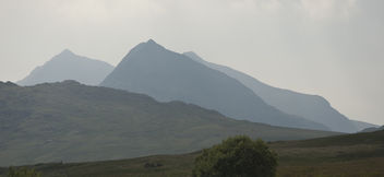 Mountains, Snowdonia, Wales - Free image #287311