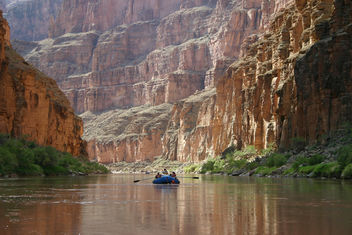Grand Canyon National Park: Colorado River Boating 3767 - image gratuit #287671