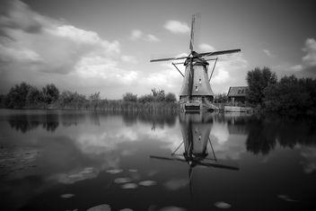 Windmill, Kinderdijk. - Free image #289091