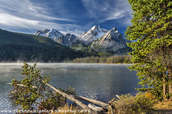 Stanley Lake at sunrise - image #289571 gratis