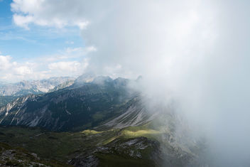 fog in the mountains - image #290521 gratis