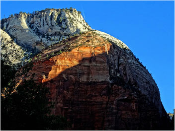 Fly-Over, Zion Lodge View 4-30-14c - image gratuit #292041