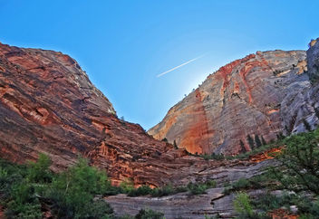 Dawn Flyover, Zion NP, UT 5-14 - Free image #294321