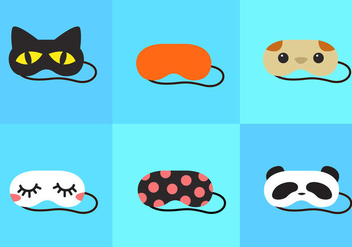 Sleep Mask - Free vector #297691
