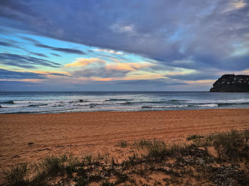 iphone sunset at Whale Beach - image gratuit #299261