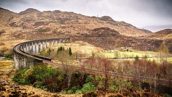 Glenfinnan viaduct - Scotland - Travel photography - Kostenloses image #299751