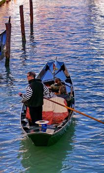 Gondola boat in Venice - image #301421 gratis