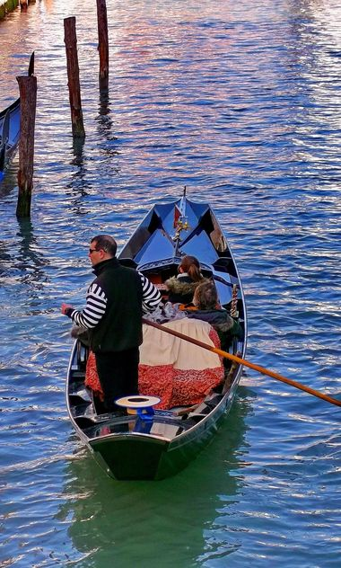 Gondola boat in Venice - бесплатный image #301421