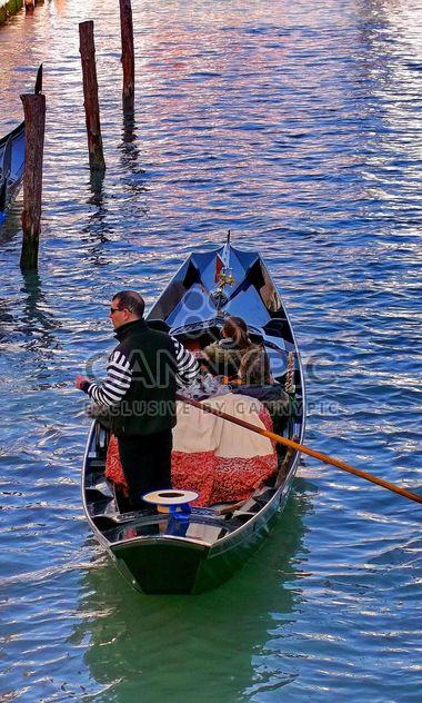 Gondola boat in Venice - Kostenloses image #301421