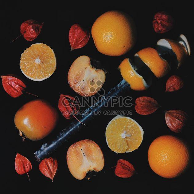 Kaki und Orange Scheiben - Kostenloses image #301961