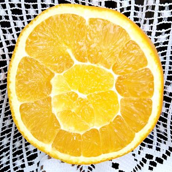 Juicy fresh orange - Kostenloses image #301971