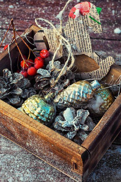 Décorations de Noël en boîte - image gratuit #301981