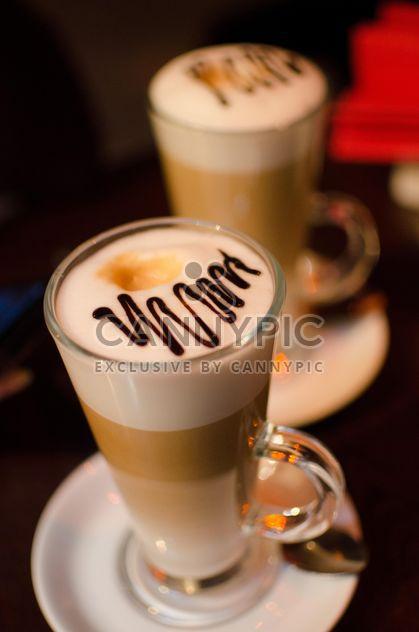 Dois copos de café com leite - Free image #302321