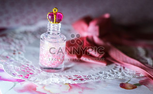 nailpolish with crown of princess - Free image #302411
