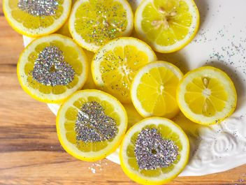 Sliced Lemon - image gratuit #302821