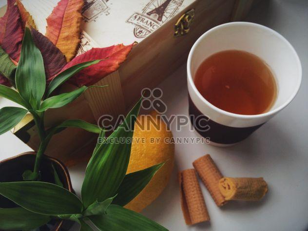 Tee und Kuchen - Kostenloses image #302881