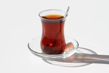 Glass of Turkish Tea - Kostenloses image #302911